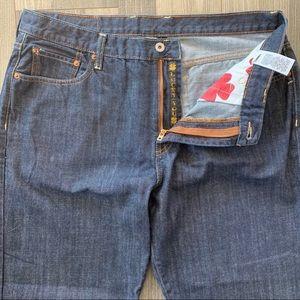 🍀 Lucky Brand Straight Leg 165 Jeans Dark Wash